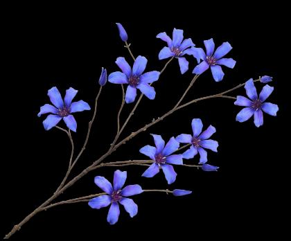 CLEMATIS SPRAY BLUE  133 CM