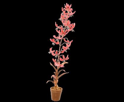PLANT ACRYL GOLD/PINK  71 CM