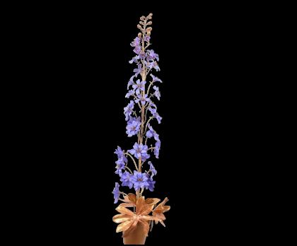 PLANT ACRYL GOLD/LAV  82 CM