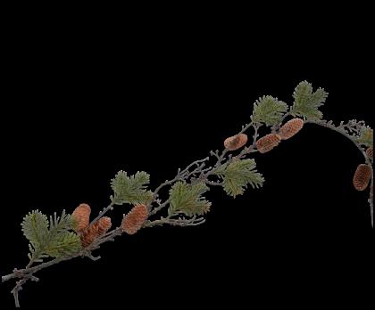 GARLAND PINE GREEN  142 CM